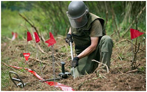 Detection of Landmines